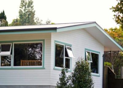 Timber retrofit double glazing of split rail joinery