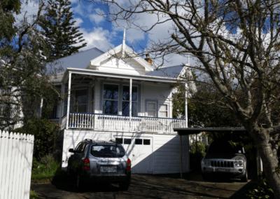 Timber retro-double glazing of Auckland Villa